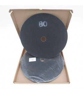 Schuurschijven dubbelzijdig P80 Ø375mm per 10