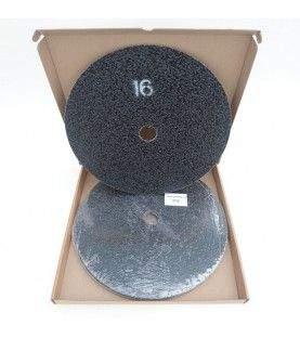 Schuurschijven dubbelzijdig P16 Ø375mm per 10