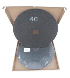 Schuurschijven dubbelzijdig P40 Ø375mm per 10