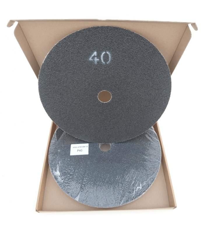 Schuurschijven P40 Ø375mm per 10