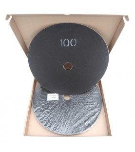 Schuurschijven dubbelzijdig P100 Ø375mm per 10