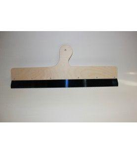 Egaliseerrakel C1 (56 cm breed met vaste vertanding)