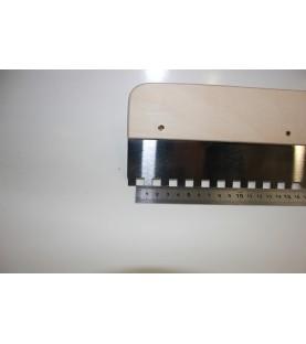Egaliseerrakel C4 (56 cm breed met vaste vertanding)